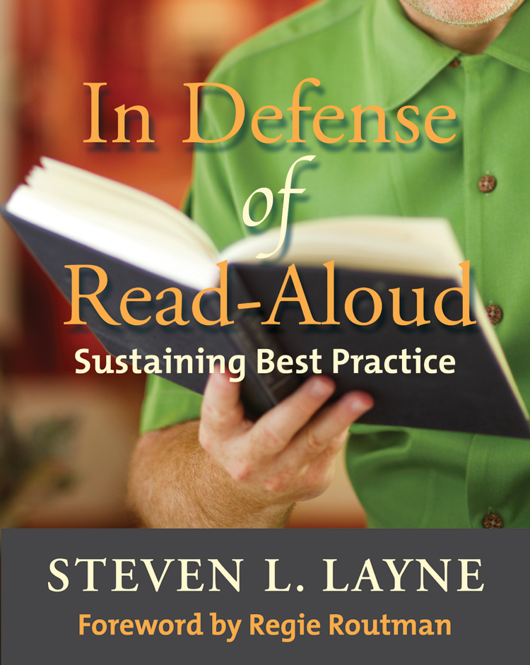 In defense of read aloud stenhouse publishers preview the book fandeluxe Gallery